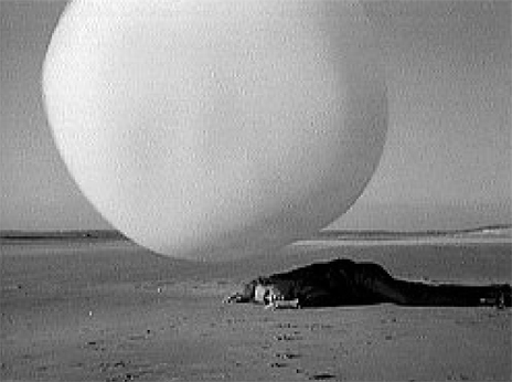 Still from <em>The Prisoner</em>, BBC Television, 1967
